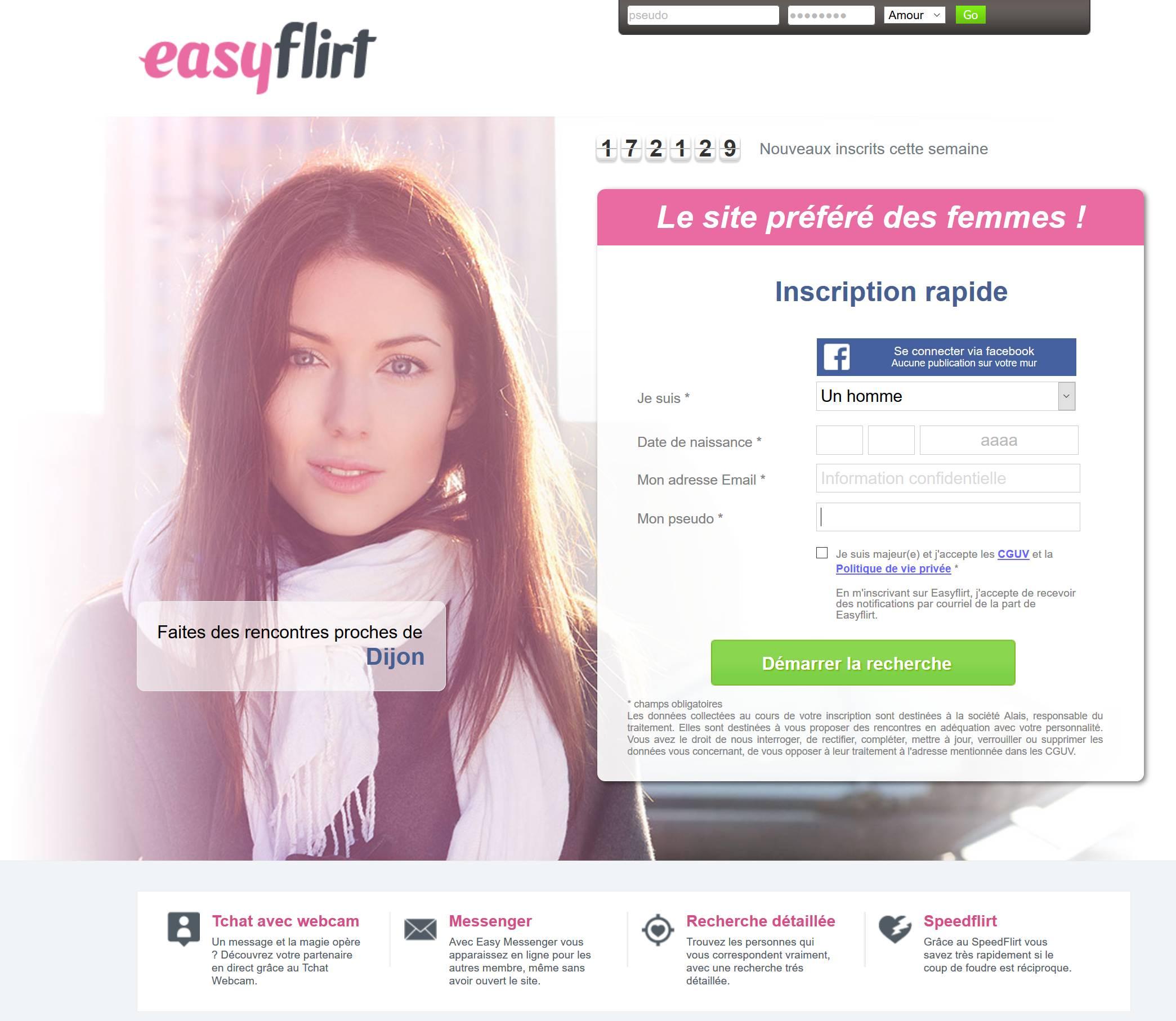EasyFlirt : Test et avis. Une alternative pour faire de belles rencontres ?