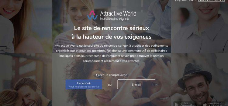 Attractive World : Un réseau de rencontres sélectives de qualité
